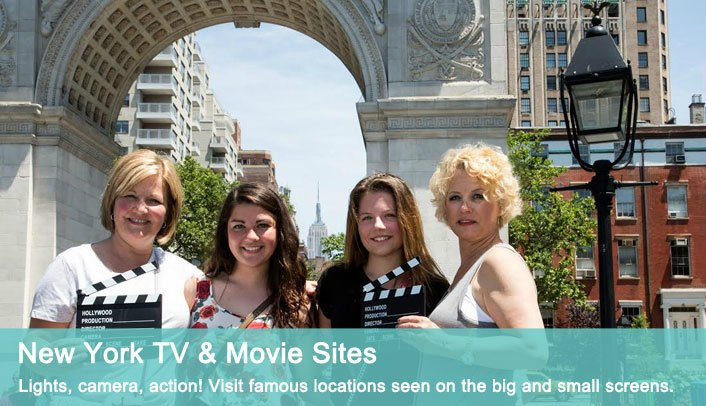 New York TV & Movie Sites