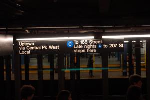 Metro in NewYork